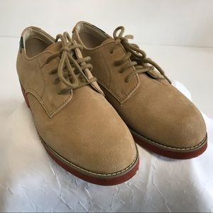Eastland Shoes 6.5M Suede Buck Oxford Lace Up